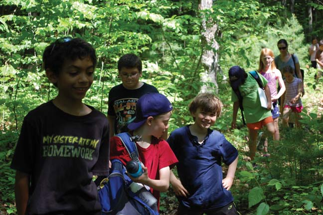 How Developed Will Your Nature Trail Be?