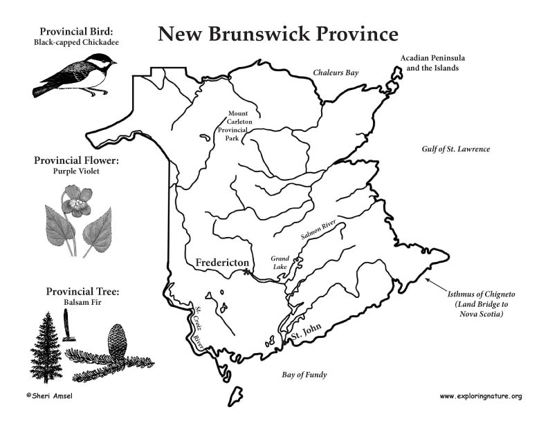 Canadian Province - New Brunswick