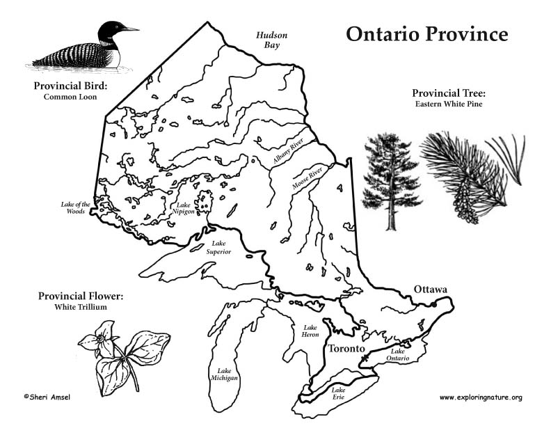Canadian Province - Ontario