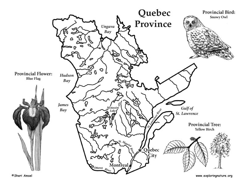 Canadian Province - Quebec