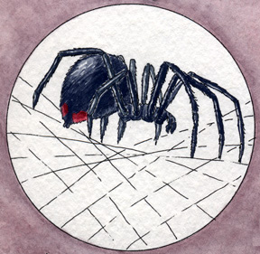 <p></p><p>Black widow spiders attack humans with deadly intent.</p>