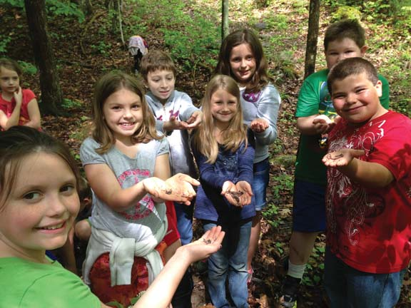 Choosing Educational Stations on Nature Trails