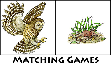 Matching Games and Worksheets