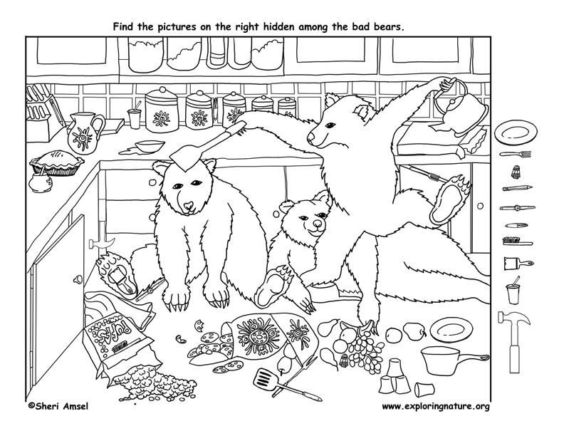 Bad Bears - Hidden Picture
