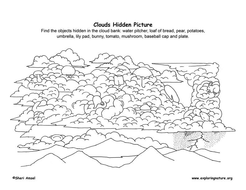 Clouds - Hidden Picture