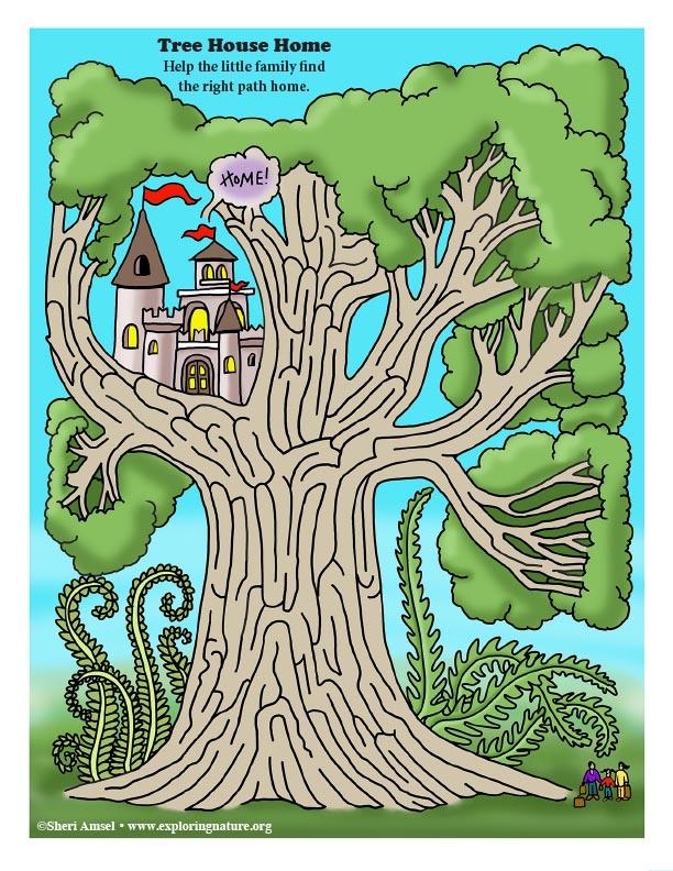 Tree House Maze