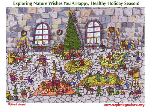 Happy Holidays Hidden Picture