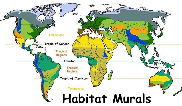 More Habitat Murals