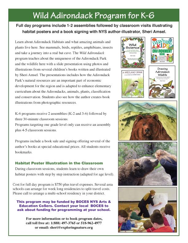 New York's Adirondack Park Habitat - School Program