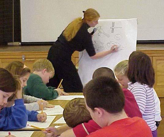 School Visits and Professional Development