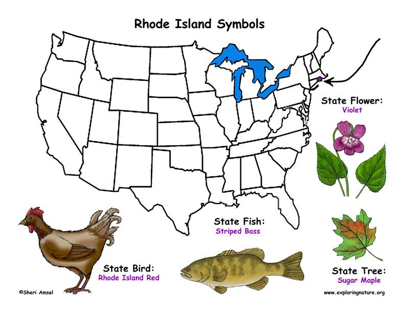 Rhode Island state symbols