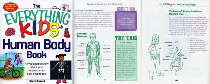 Everything Kids HUMAN BODY BOOK