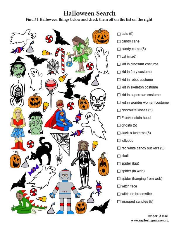 Halloween Search