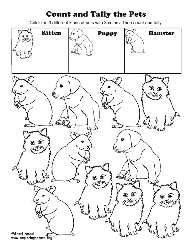 Count and tally pets